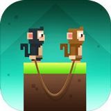 猴子绳索破解版 v1.1无限金币版