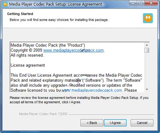 Media Player Codec Pack v4.3.8官方最新版