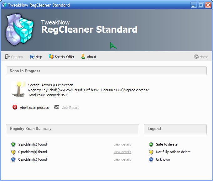 Tweaknow regcleaner professional v3 01 full siin
