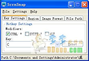 屏幕截图软件(ScrnSnap) v1.2.6绿色免费版