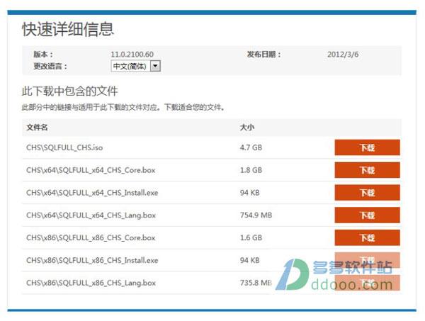 sql server 2012 简体中文官方版