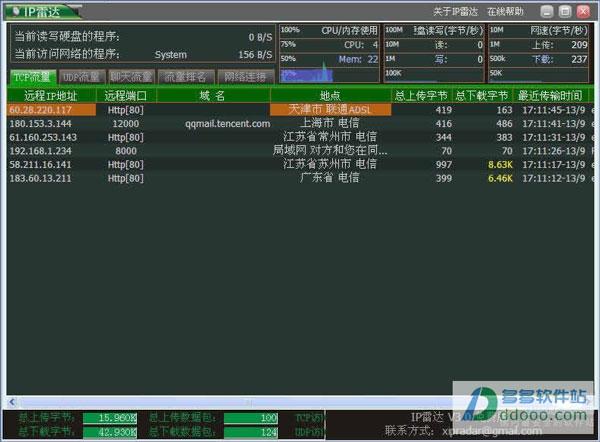 IP雷达 V5.0绿色版