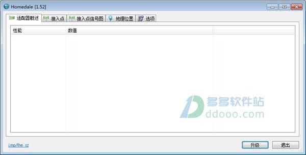 无线信号测试软件Homedale V1.61中文绿色版