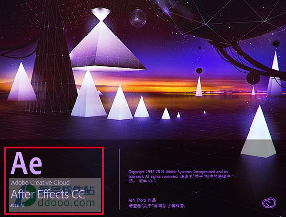adobe after effects cc 2015中文破解版 附注册机和安装教程