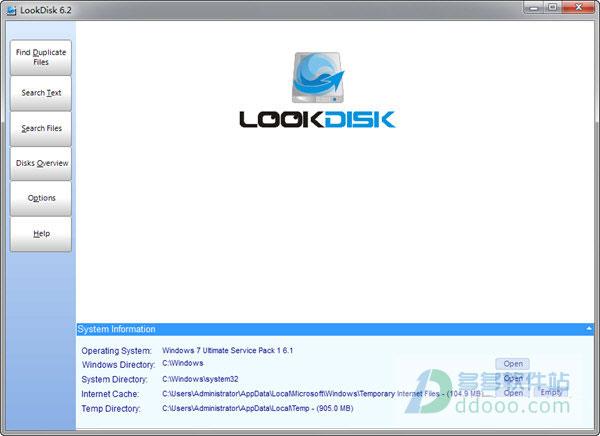 look disk(硬盘文件搜索工具) v6.4官方最新版