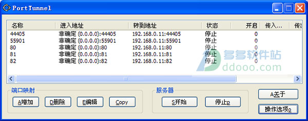 端口映射工具(porttunnel) v1.6.14.211无限制版