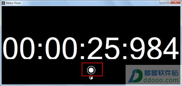 Metro Timer(桌面计时器软件) v1.0绿色免费版