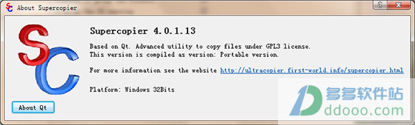 Supercopier(超级拷贝器) v4.0.1.13绿色中文版