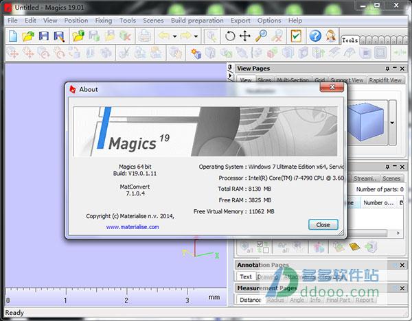 有限元分析软件下载_Magics19中文版下载|Magics 19.01中文破解版下载 含32/64位 附破解说明 ...