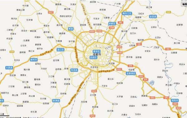 成都市地图_成都电子地图全图高清版|成都电子地图下载 - 多多软件站