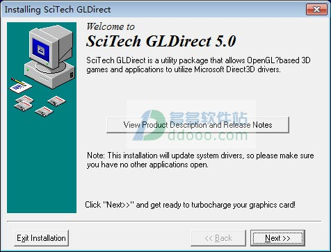 scitech gldirect v5.0.2