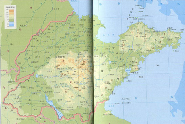 山东地图全图高清版 山东地图全图高清版下载 v2016最新版