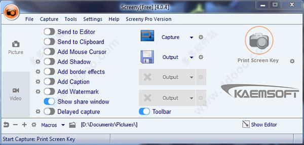 Screeny(屏幕截图工具)