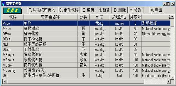 饲料配方大师2015(饲料配方软件)下载 v1.0官方