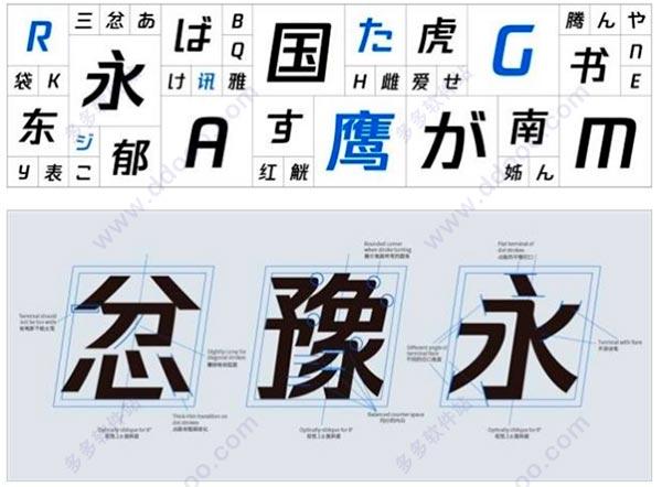 腾讯字体下载|腾讯logo字体(TTTGB-Medium)下pvc多少名片设计印刷钱一张图片