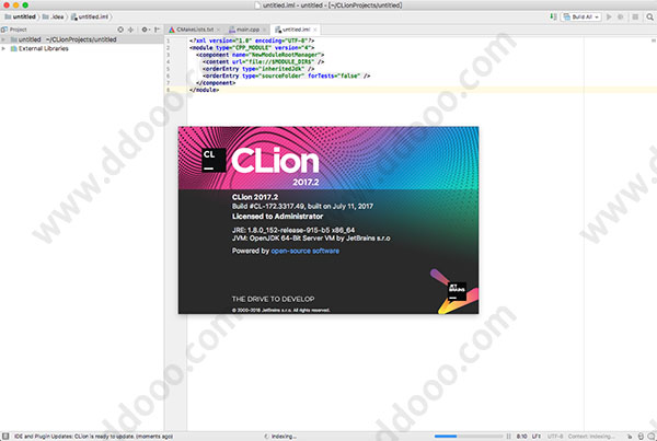 clion for mac 破解版 clion 2017.2 mac破解版下载