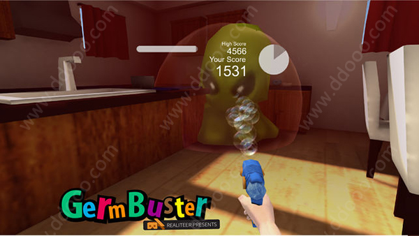VR泡泡枪