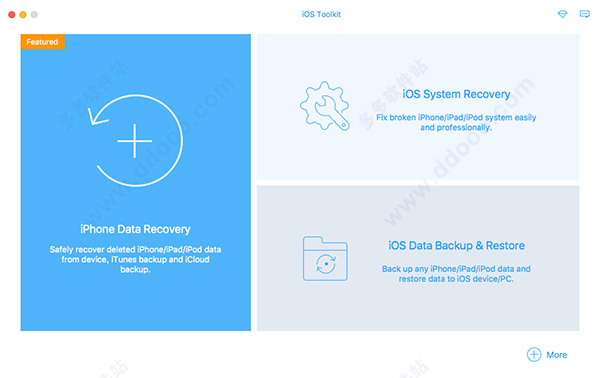 Apeaksoft iPhone Data Recovery for mac破解版