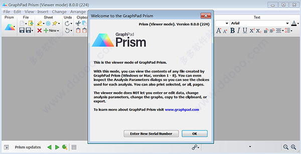 graphpad prism viewer