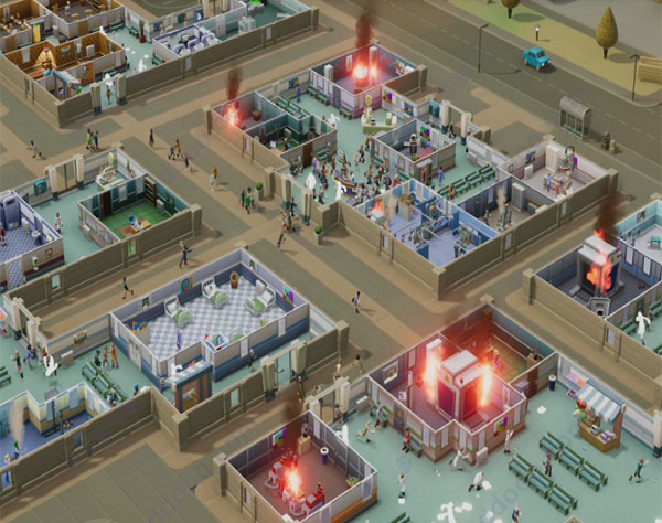Two Point Hospital mac版