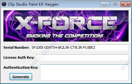 manga studio ex keygen x force latest version