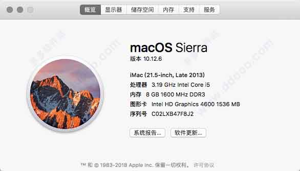 macOS Sierra10.12.6