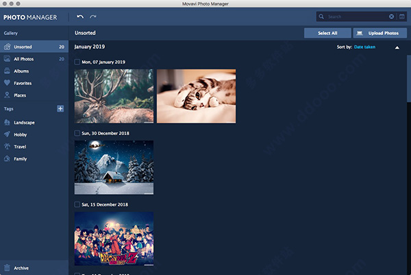 Movavi Photo Manager for mac版
