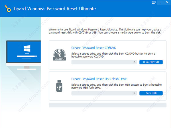 Tipard Windows Password Reset Ultimate破解版